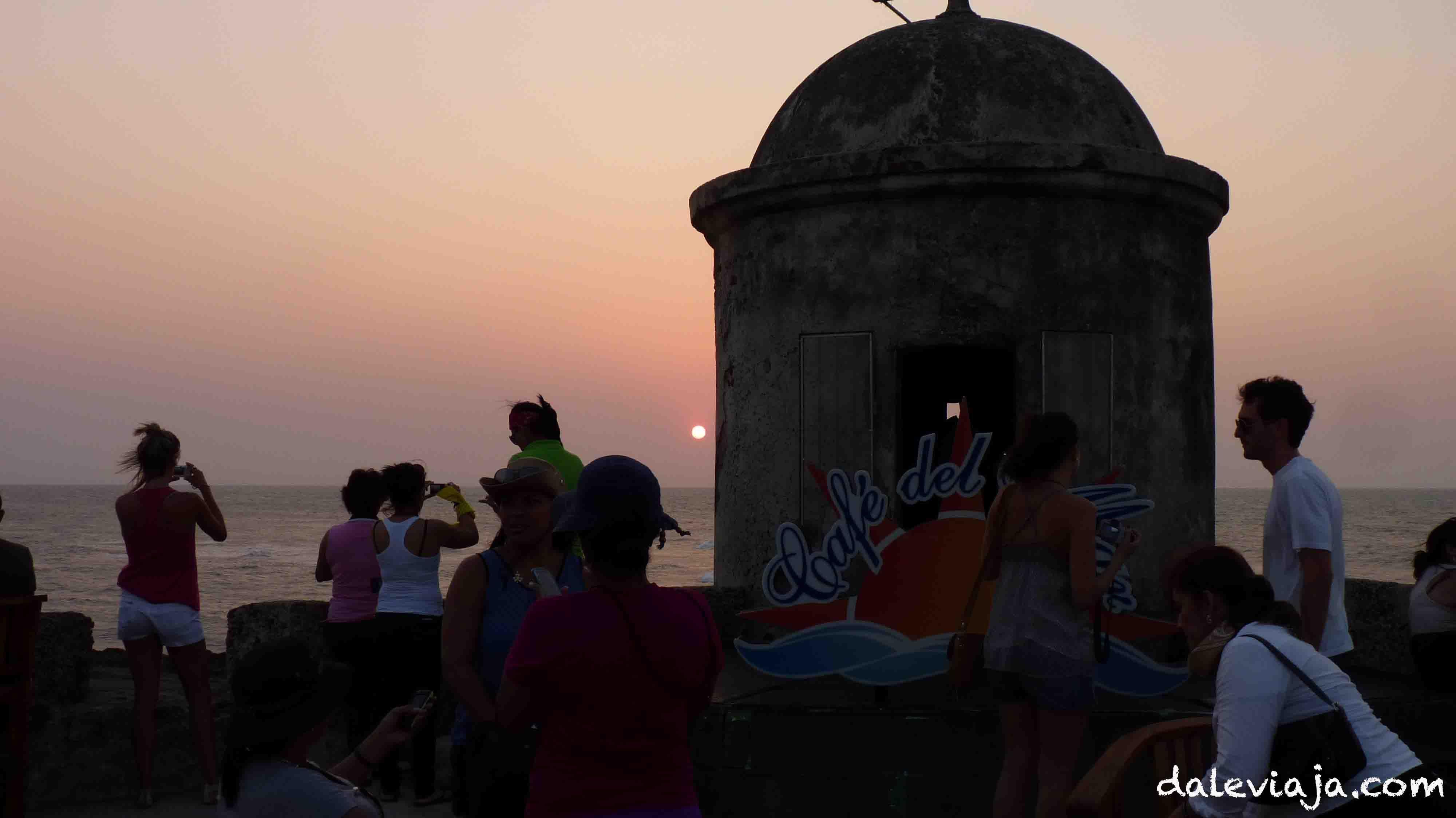 Atalaya, ciudad amurallada. Cartagena de Indias.