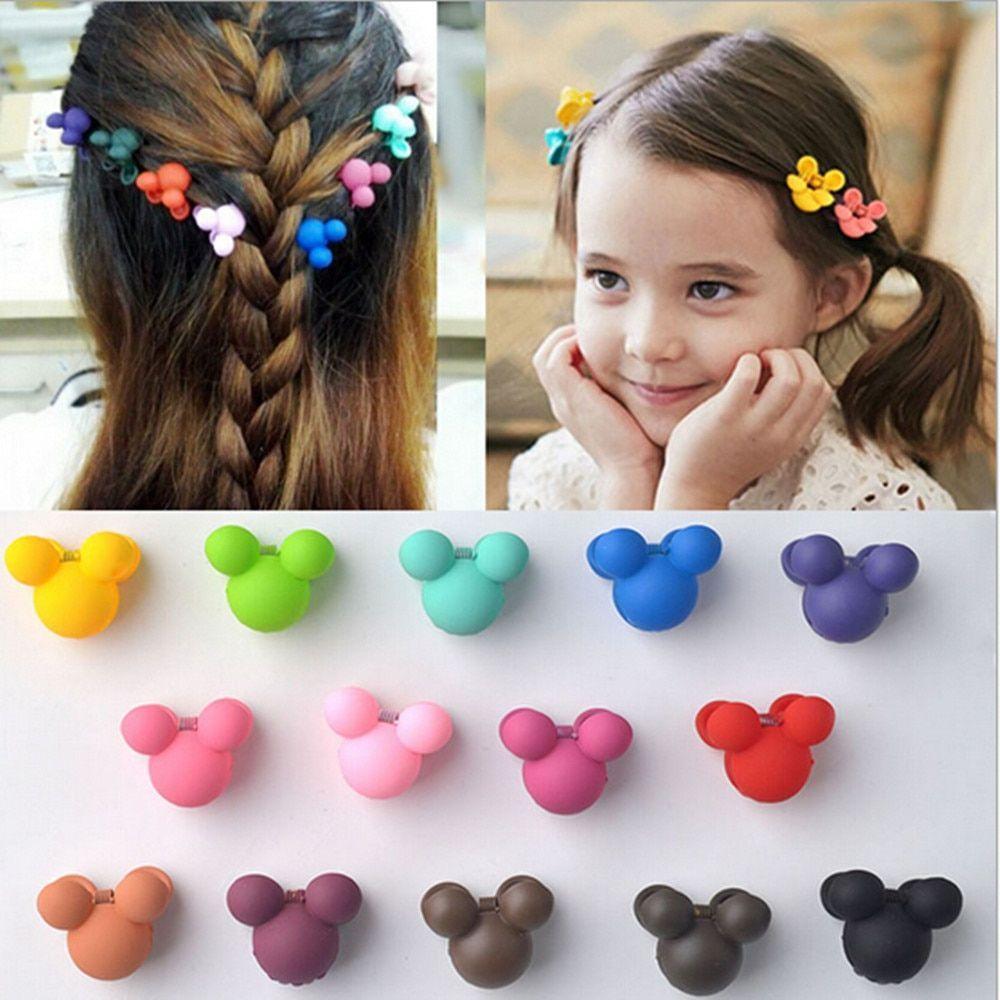 Baby Girls Hair Claws 20pcs Cute Hairpin Barrette Mini Bow Clip Hair Accessories