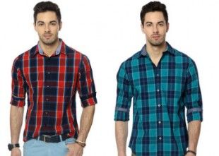 Flat 50 % Off on People & University of Oxford Men's Shirts