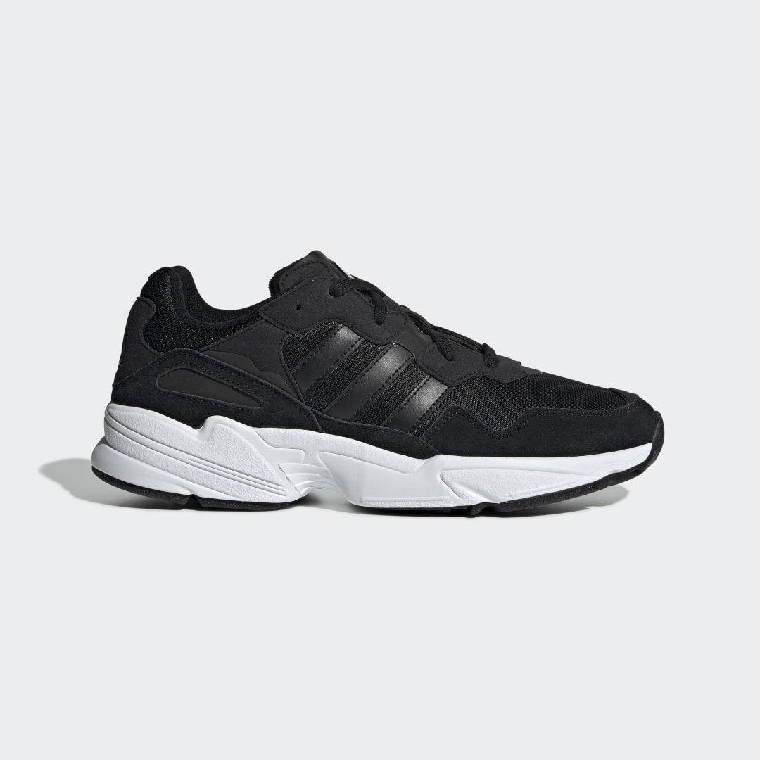 Yung-96 Shoes Black Mens in 2020 | Black running shoes ...