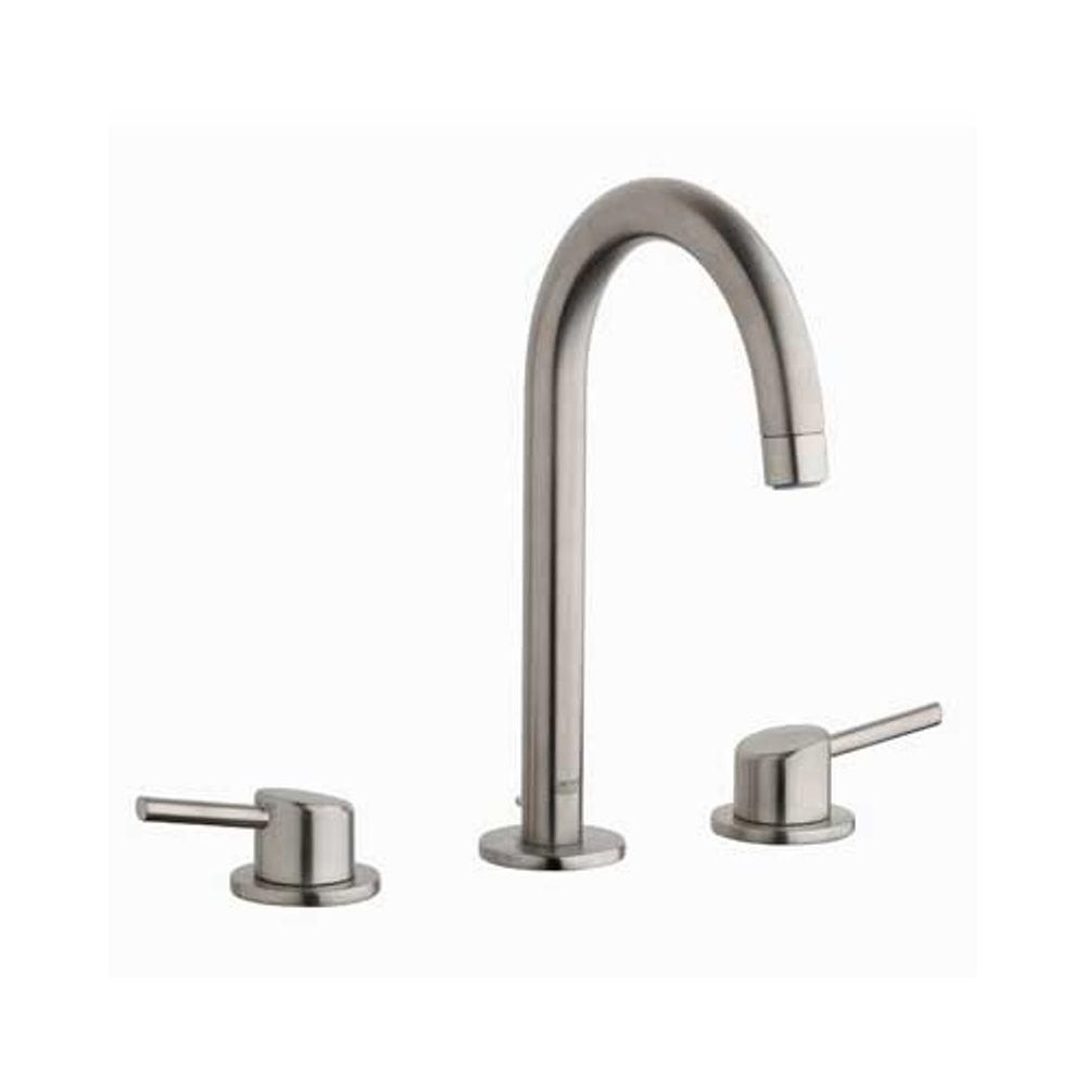 GROHE Concetto 8 in. Widespread 2-Handle Bathroom Faucet in ...