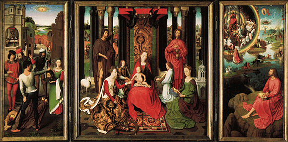 Altarpiece of the two Saints John, Hans Memling, Bruges