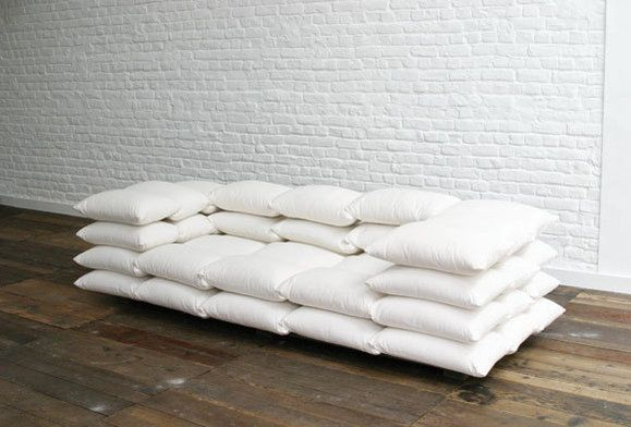 Couch Made Out Of Pillows It Looks So Comfy For The