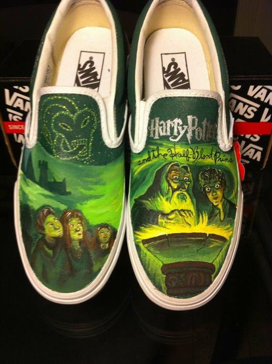 Harry Potter Vans Must Be A Weasley