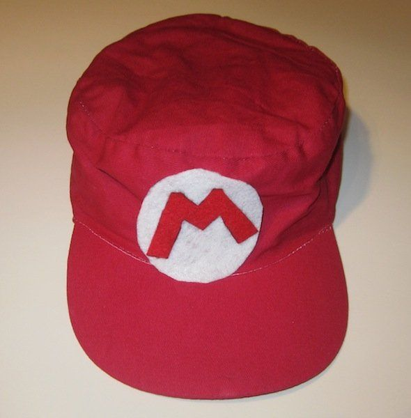 Easy to make Mario hats!  Complete directions and more.  Great Mario party favor!