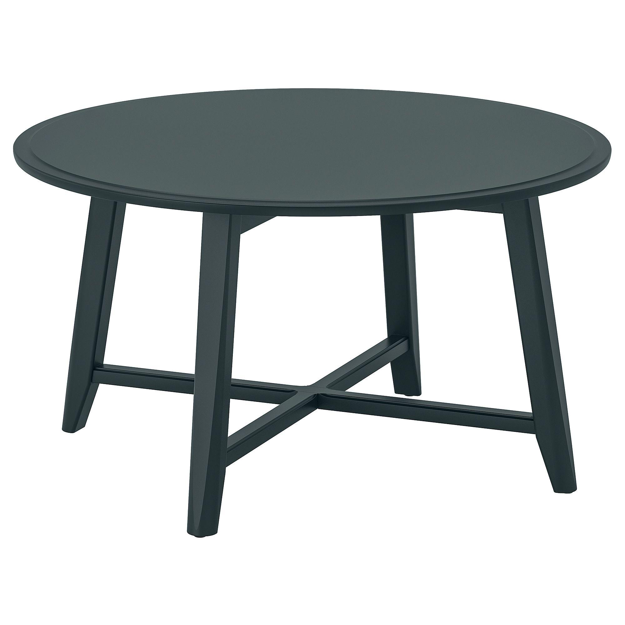 "KRAGSTA Coffee table dark bluegreen 35 3/8 "" Green"