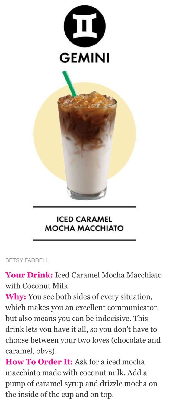 Starbucks Secret Menu Drink Recipe Iced Caramel Mocha