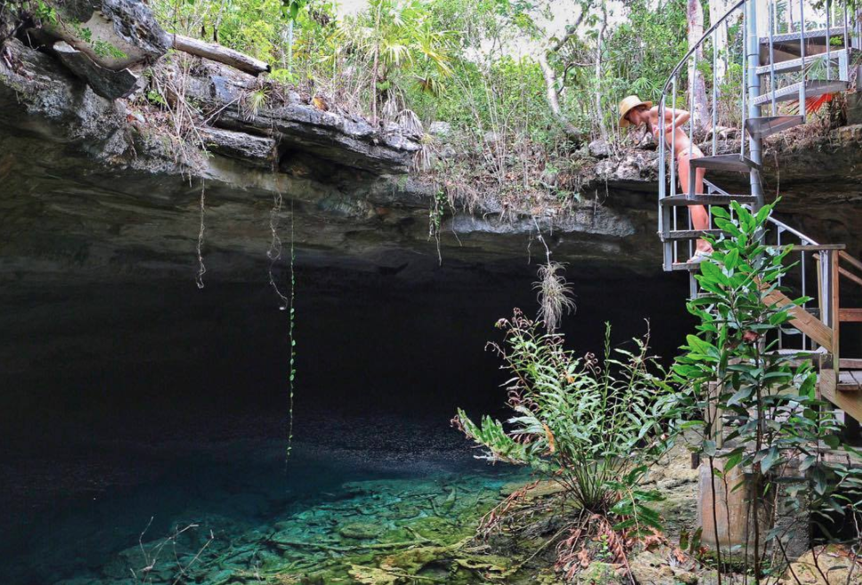 Grand Bahama Island is home to Lucayan National Park, a national preserve spanning 40 acres, including one of the largest underwater cave systems in the world! Photo: mmahla