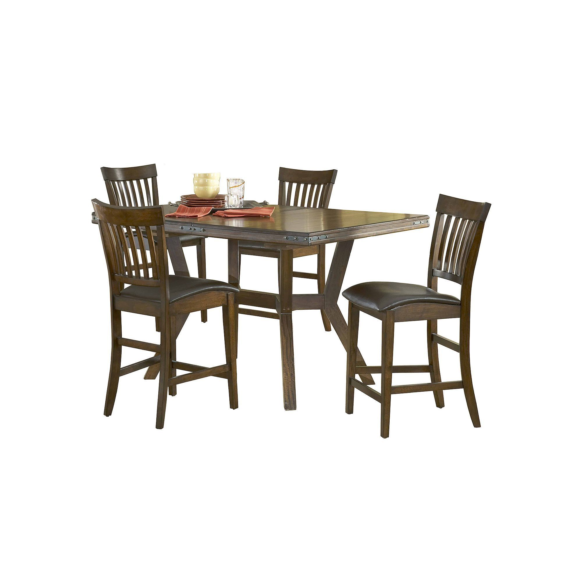 Vermont Extendable Garden Table And Chair Set: Hillsdale Furniture Arbor Hill 5-pc. Extendable Dining Set