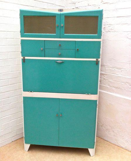 Fortress Vintage Kitchen Cupboard Storage Unit