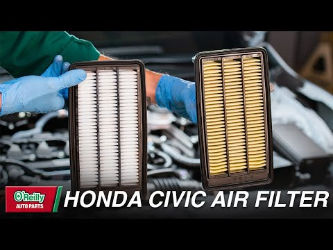 Change The Air Filter In Your 2016 To 2019 Honda Civic With These Detailed Steps An Air Filter Replacement Can Improve Your Car S Air Filter Honda Civic Honda