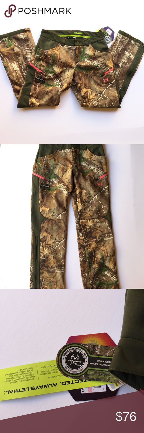 257a20a3058c4 UA ColdGear Infrared Speed Freek Pant REALTREE Under Armour Women's  ColdGear Infrared Speed Freek Pant REALTREE