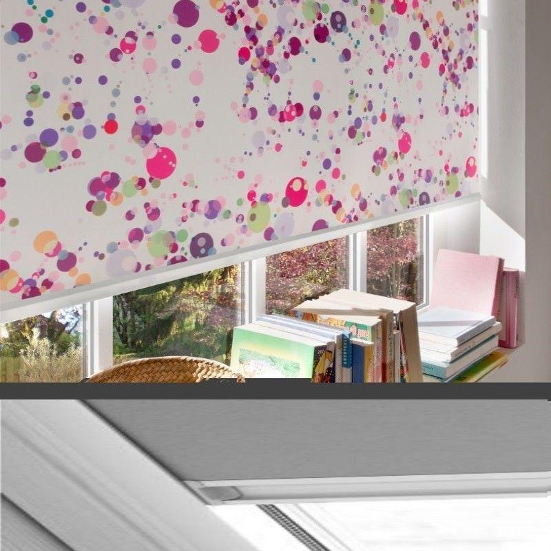 Kinder-Thermo-Verdunkelungs-Rollo für ROTO Dachfenster Typ 320-329_Seitenprofile