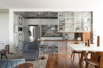 360° Apartment by Diego Revollo | Press kits, Apartments and ...