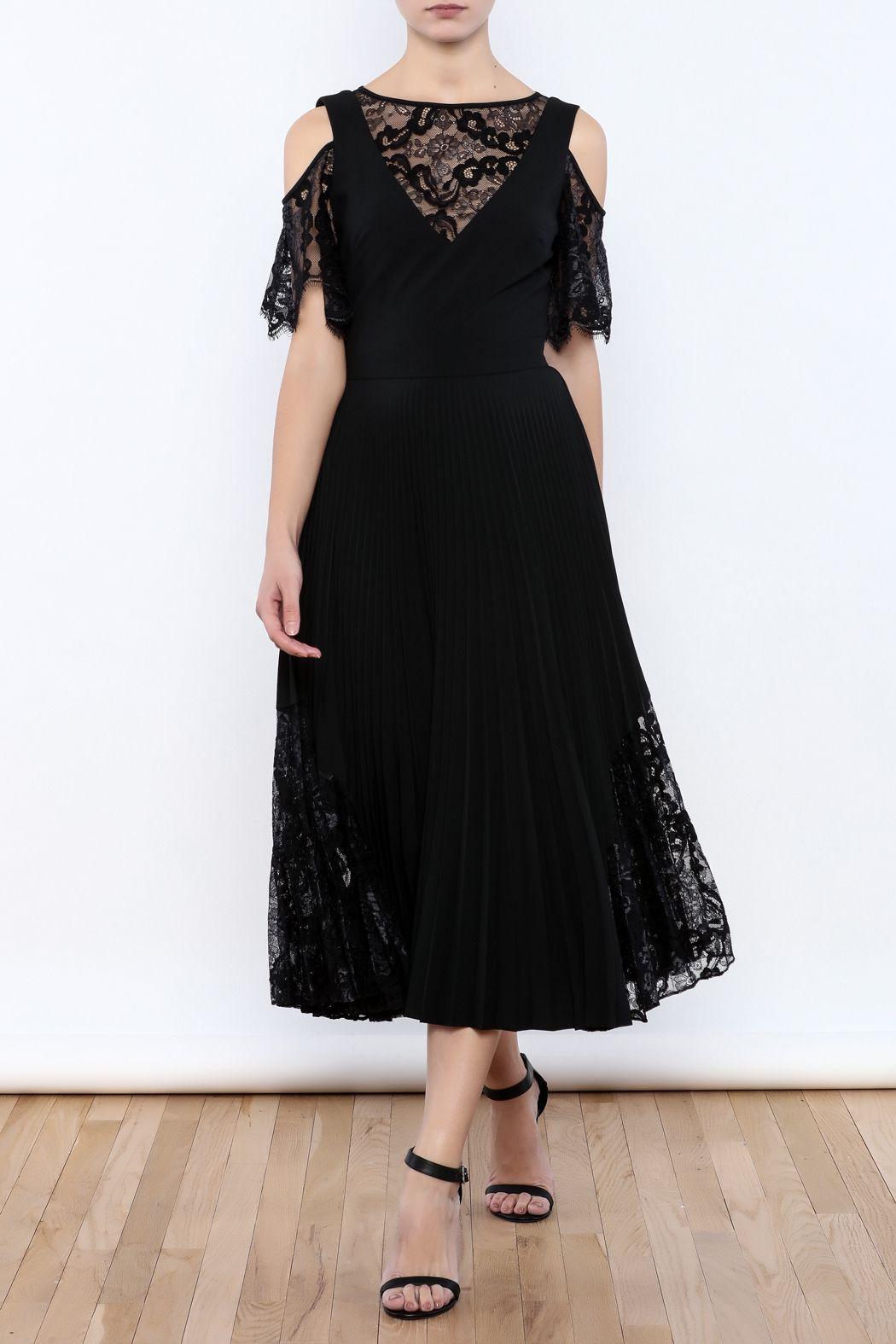 Nicole Miller Black Illusion Dress | Shoptiques Love Box | Pinterest ...