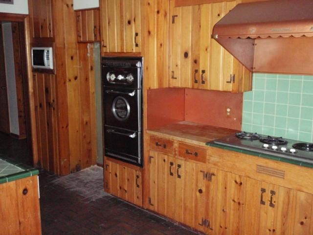 Knotty Pine Kitchen Time Capsule Mcm Homes Knotty