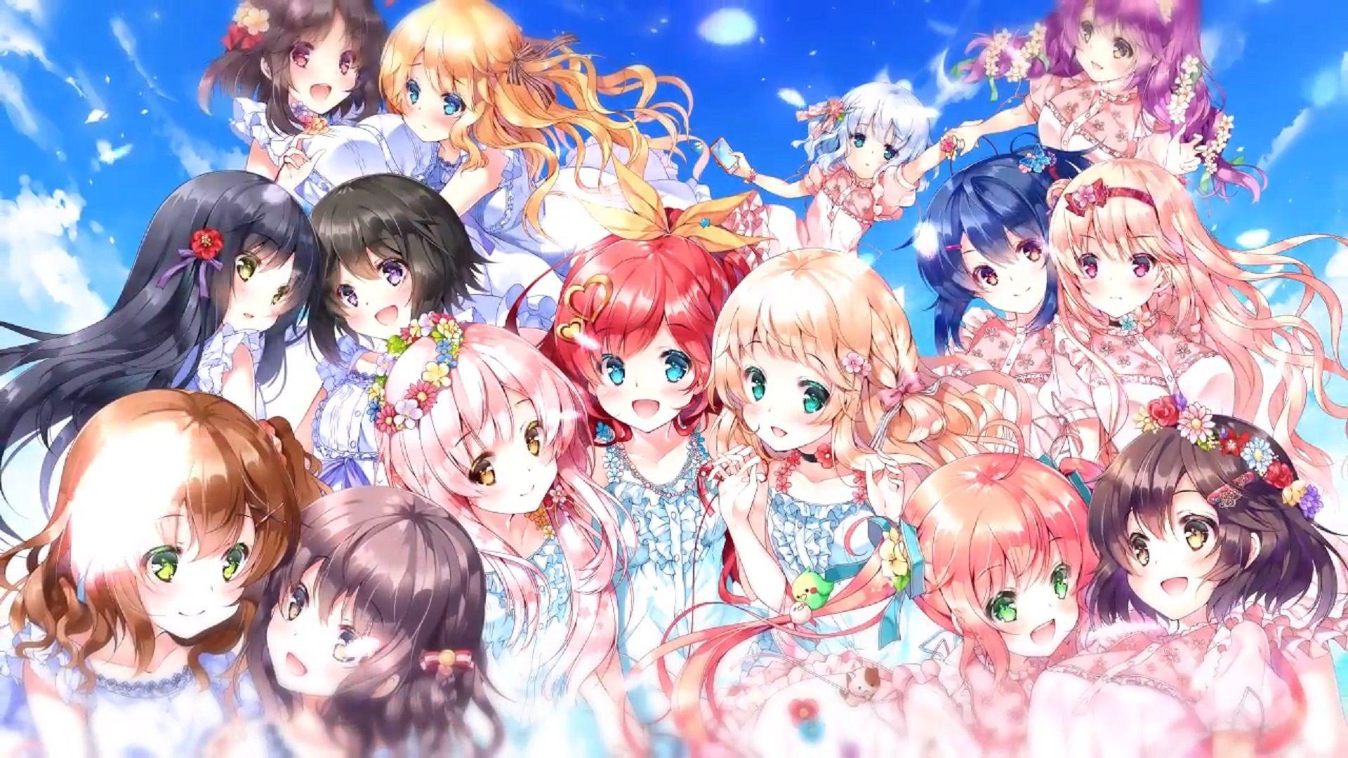Yuri visual novel games