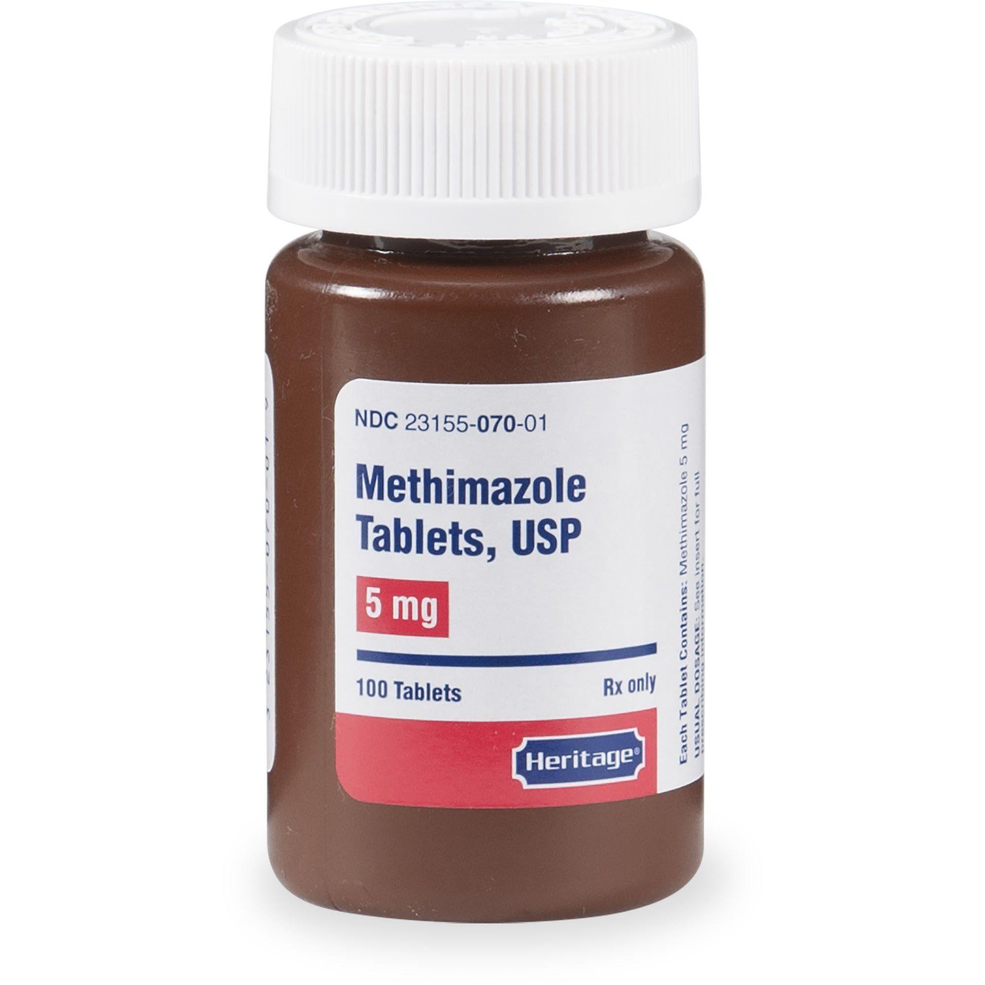Methimazole 5 mg Tablets, 100 Count Wild bird food, The