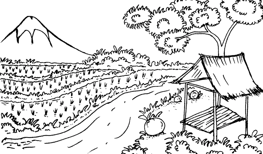 20 Gambar Pegunungan Indah Kartun Tarian Daerah 34 Provinsi Beserta Gambar Dan Penjelasannya Dosenpendidikancom N Di 2020 Sketsa Lukisan Pemandangan Kota Pemandangan