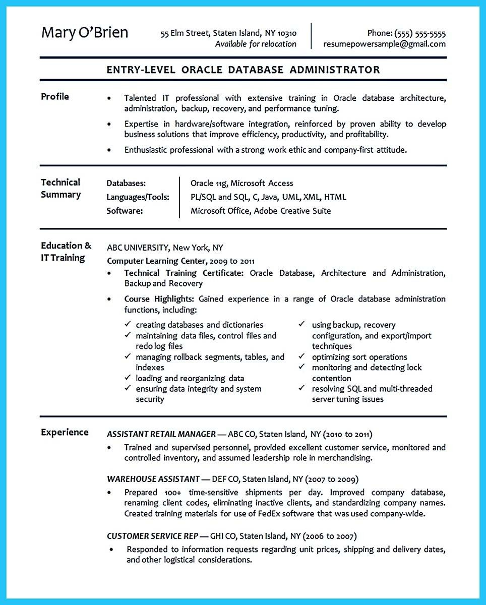 nice Attract Your Employer with Defined Administrator Resume ...