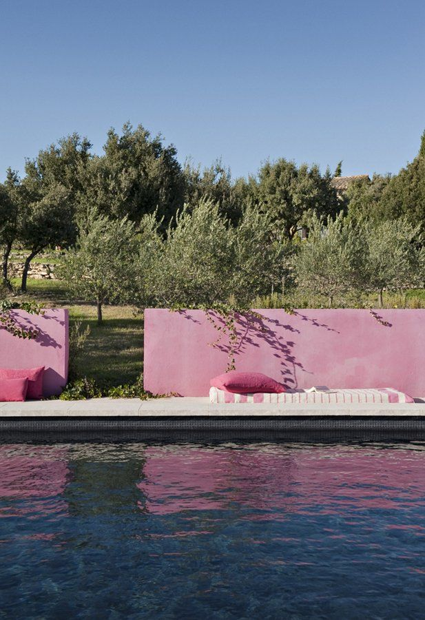 p | pink pool edge | | p | exteriors | pinterest | sommer, Hause ideen