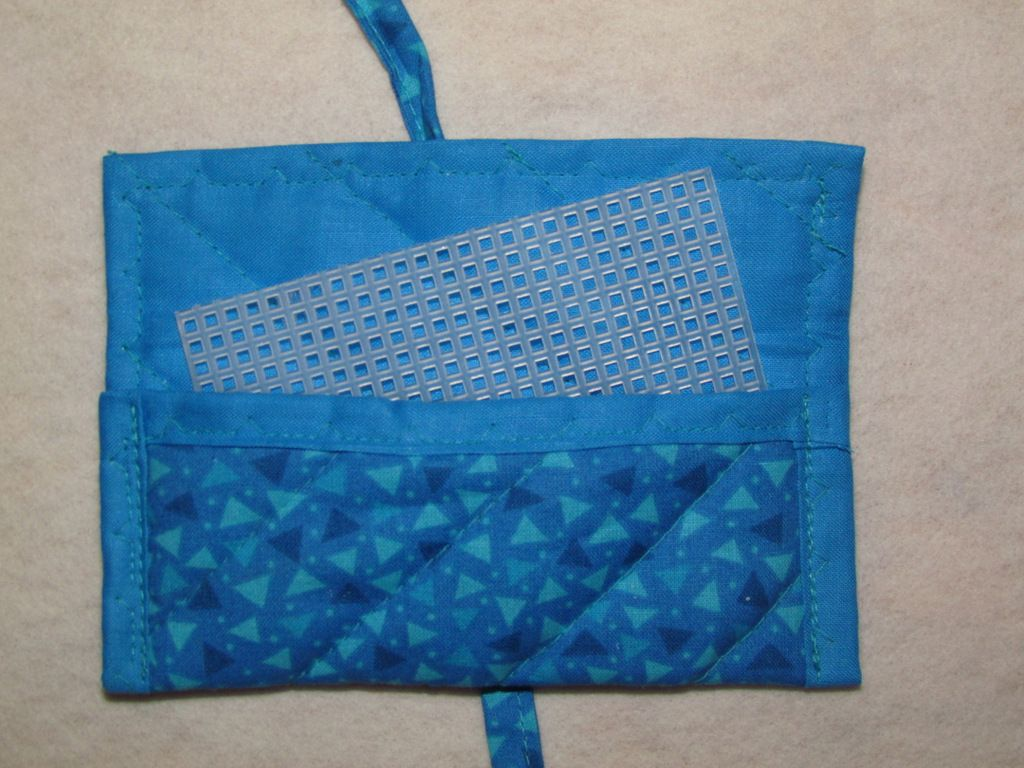 Simple Travel Earring Holder Already Have The Plastic Canvas Squares