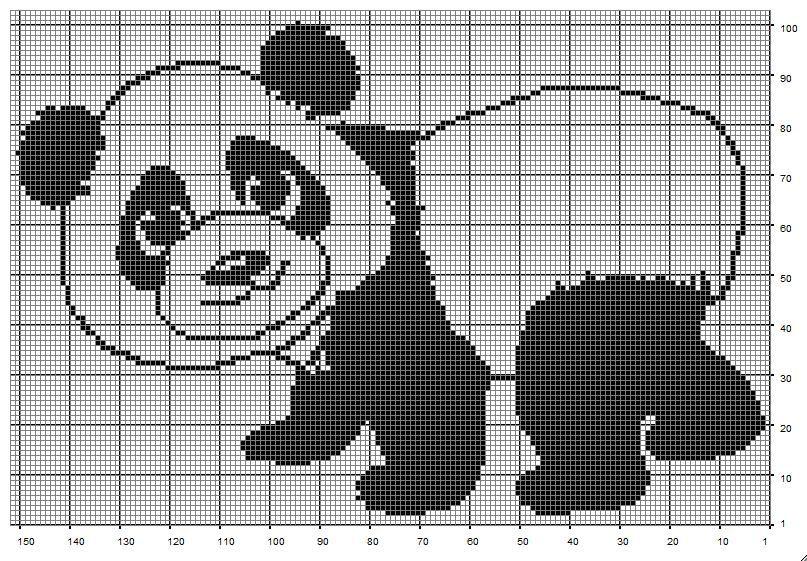 Free Filet Crochet Charts and Patterns | Diy häkeln, Vorlagen und Häkeln