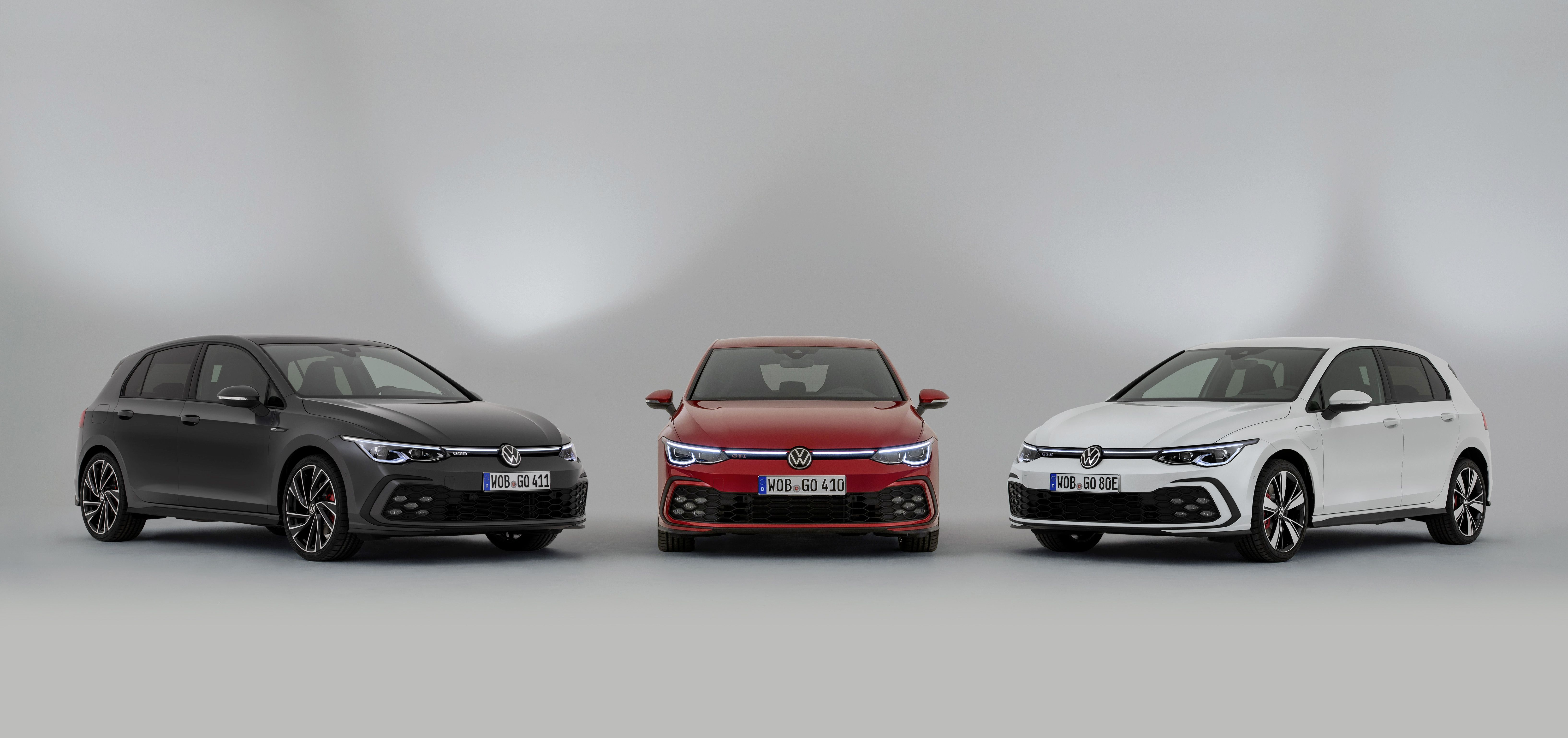 Volkswagen Golf 8 Gti Gte Gtd Factory Issued Press Photo 02 2020 Volkswagen Volkswagen Golf Novo Golf