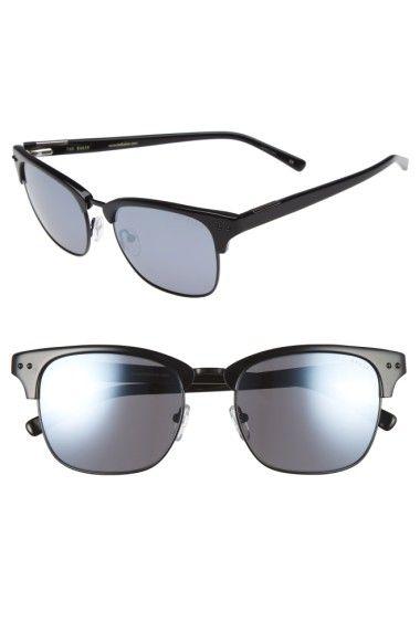 TED BAKER 55Mm Polarized Browline Sunglasses. #tedbaker #