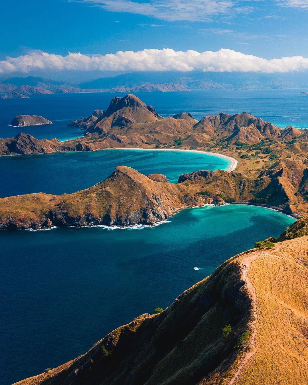 Padar Island, Indonesia in 2020 Komodo national park