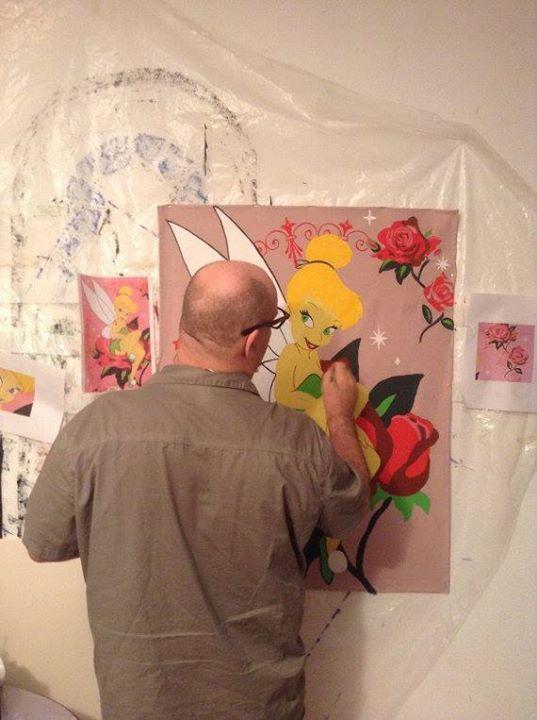 Je vends ces peintures entièrement fait à la main sur des tissus avec quatre œillets en couleur or pour que l'acheteur puisse l'accroche au mur ou autre. Pour plus d'informations : venez me parler en privé #totoro #ghibli #kawaii #ghiblistudio #totoroshopco