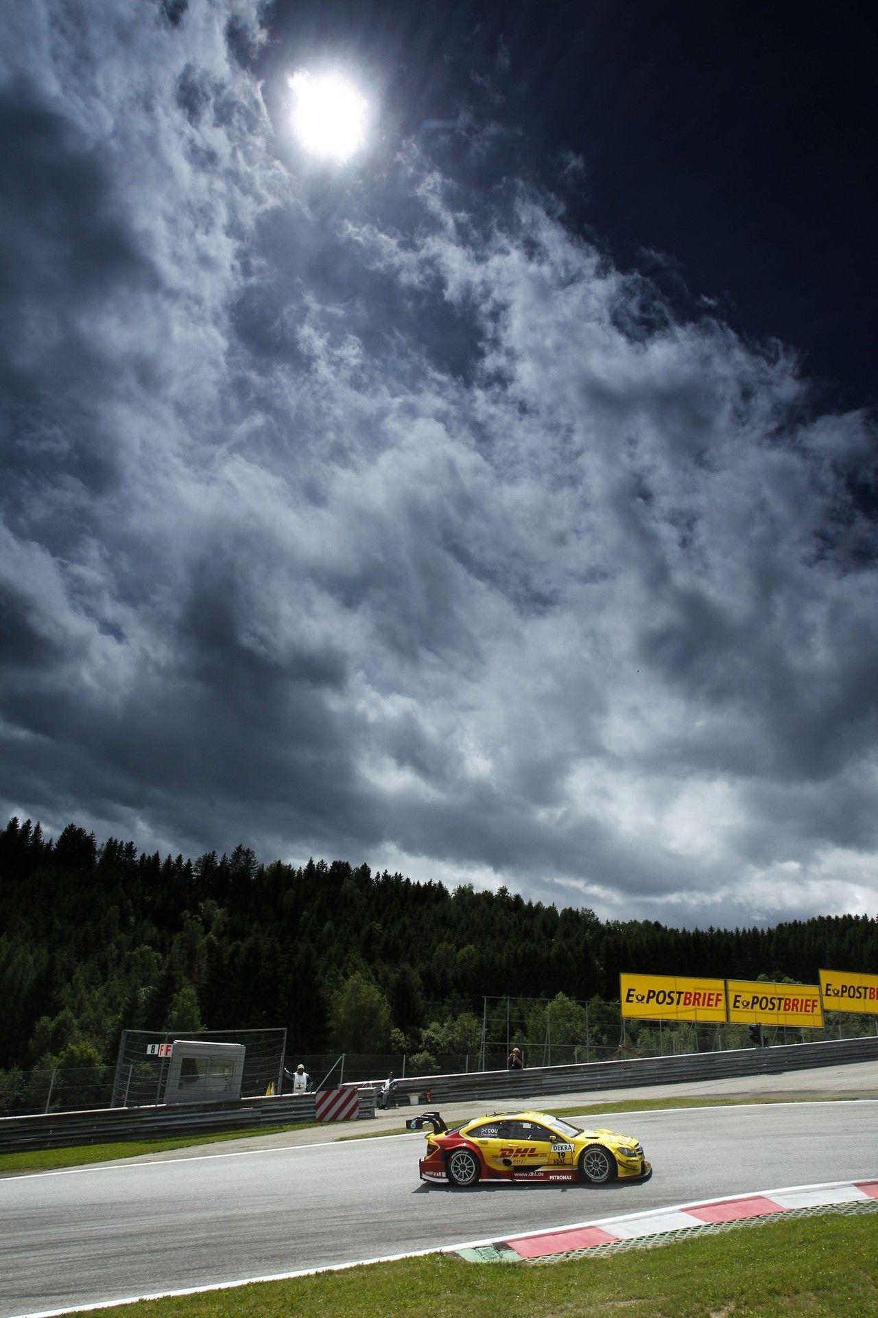 DTM, Spielberg, 4. Lauf, 1.-3. Juni 2012. David Coulthard, DHL Paket Mercedes AMG C-Coupé
