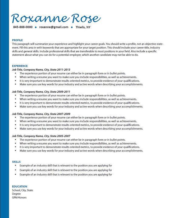 Professional Resume Writing Resume Help Job Search Etsy Resume Examples Resume Writing Resume Skills