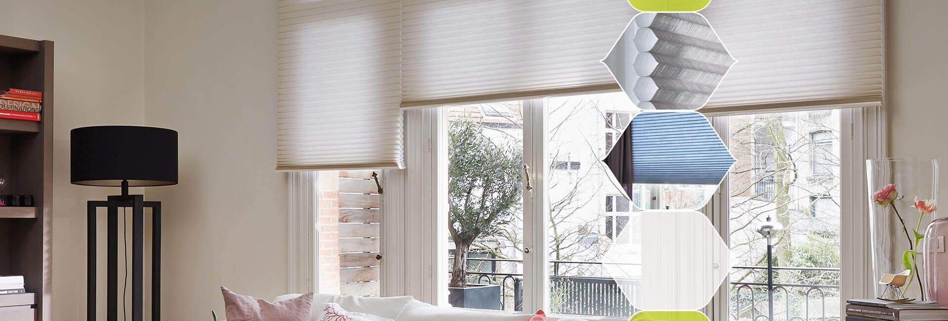 Duette Lounge Blinds energy saving blinds for your home House