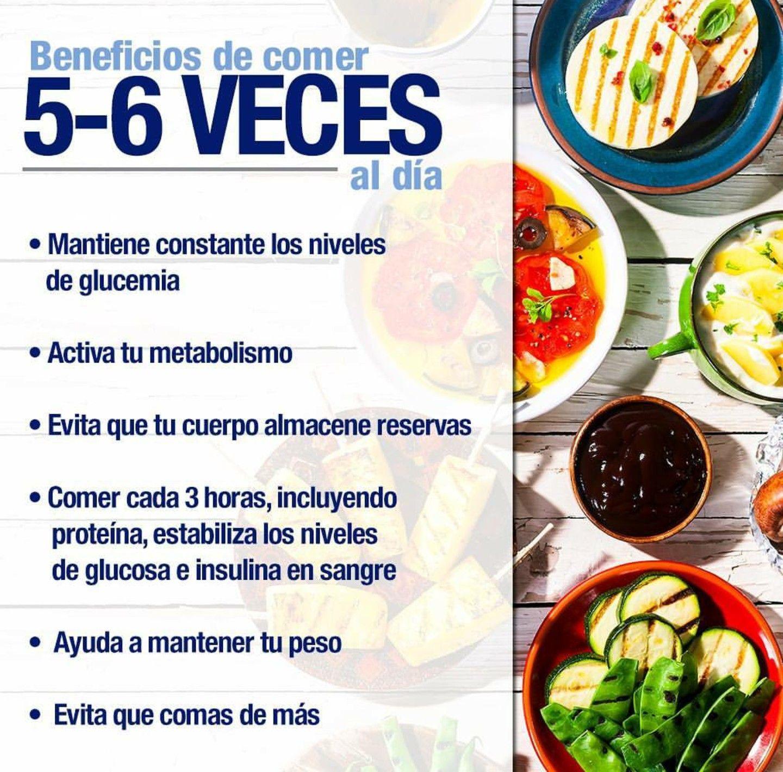 Que comer cada 3 horas para bajar de peso