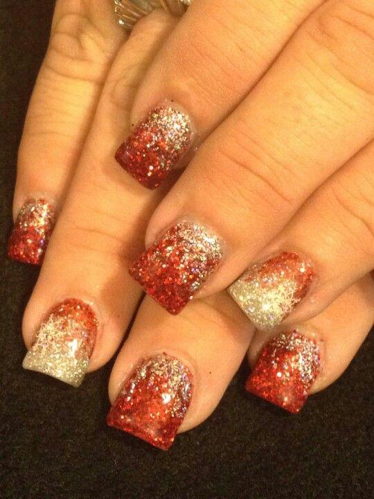 Holiday nails   Nails ideas ...my nail work