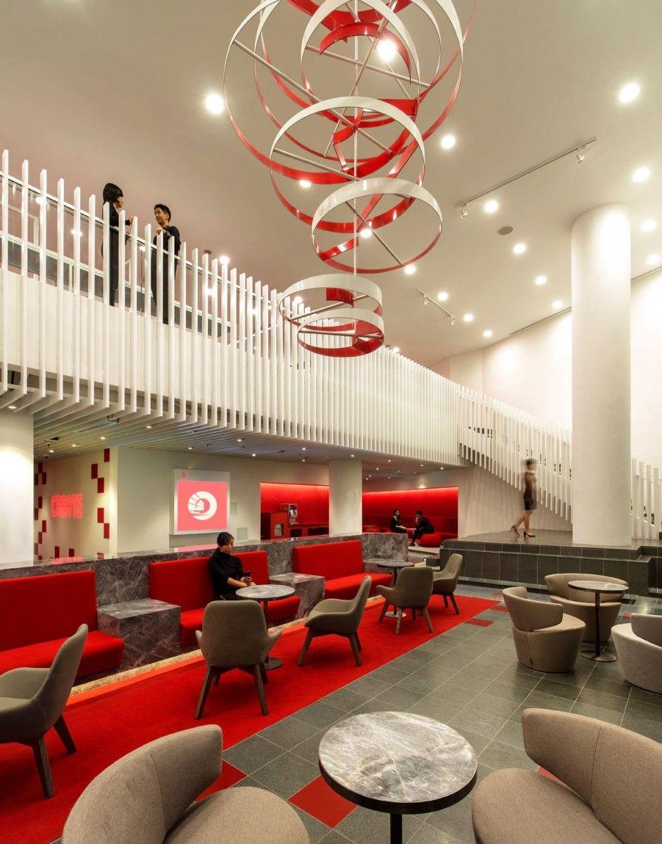 OCBC Campus Ministry of Design Showroom design, Design
