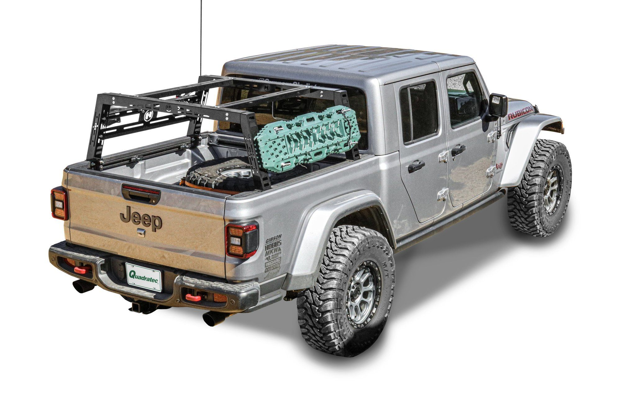 Hobbs 6700 020 Freedom Bed Rack For 20 21 Jeep Gladiator Jt Jeep Gladiator Jeep Gladiator