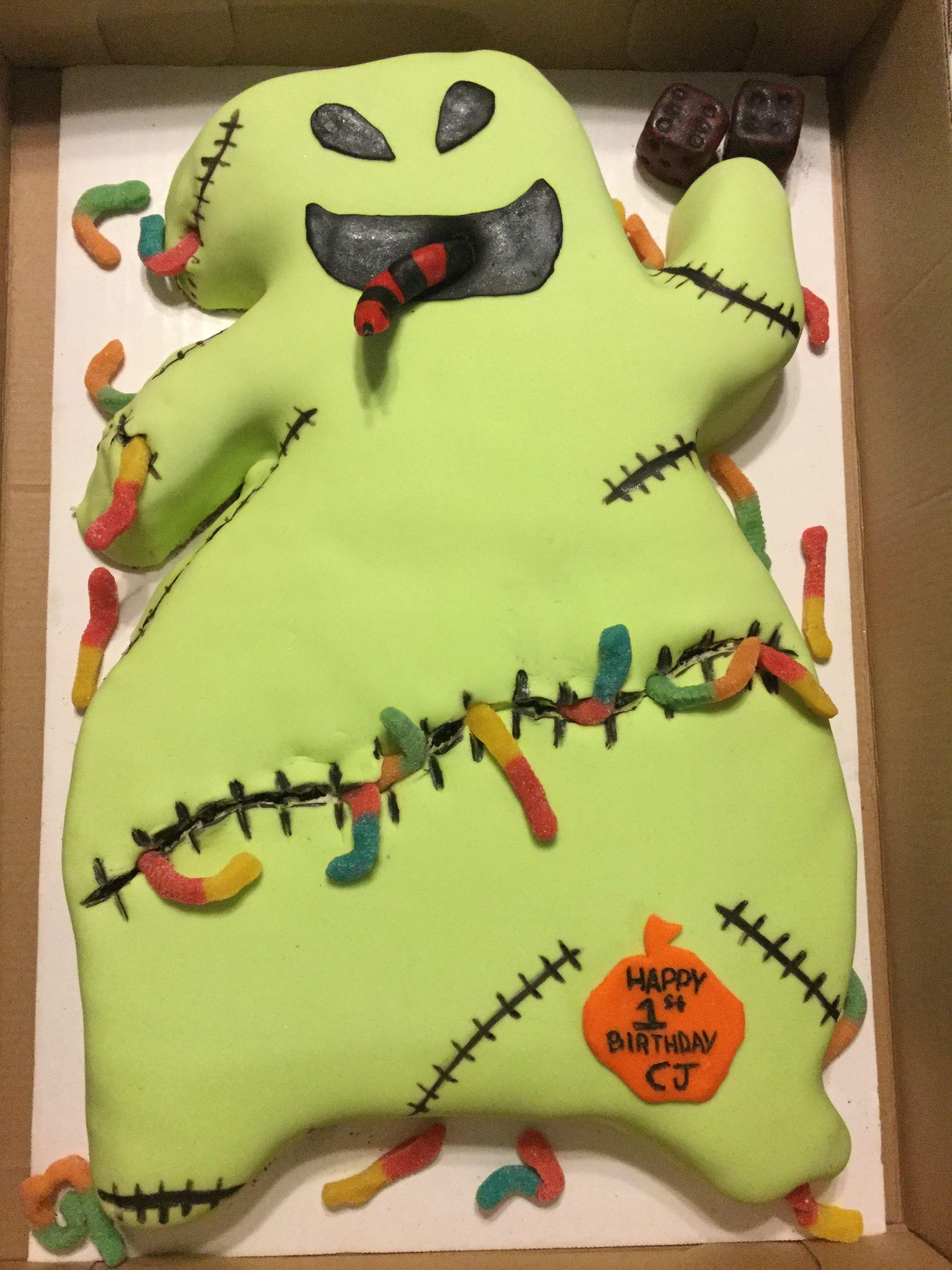 Oogie Boogie Birthday Cake From Nightmare Before Christmas