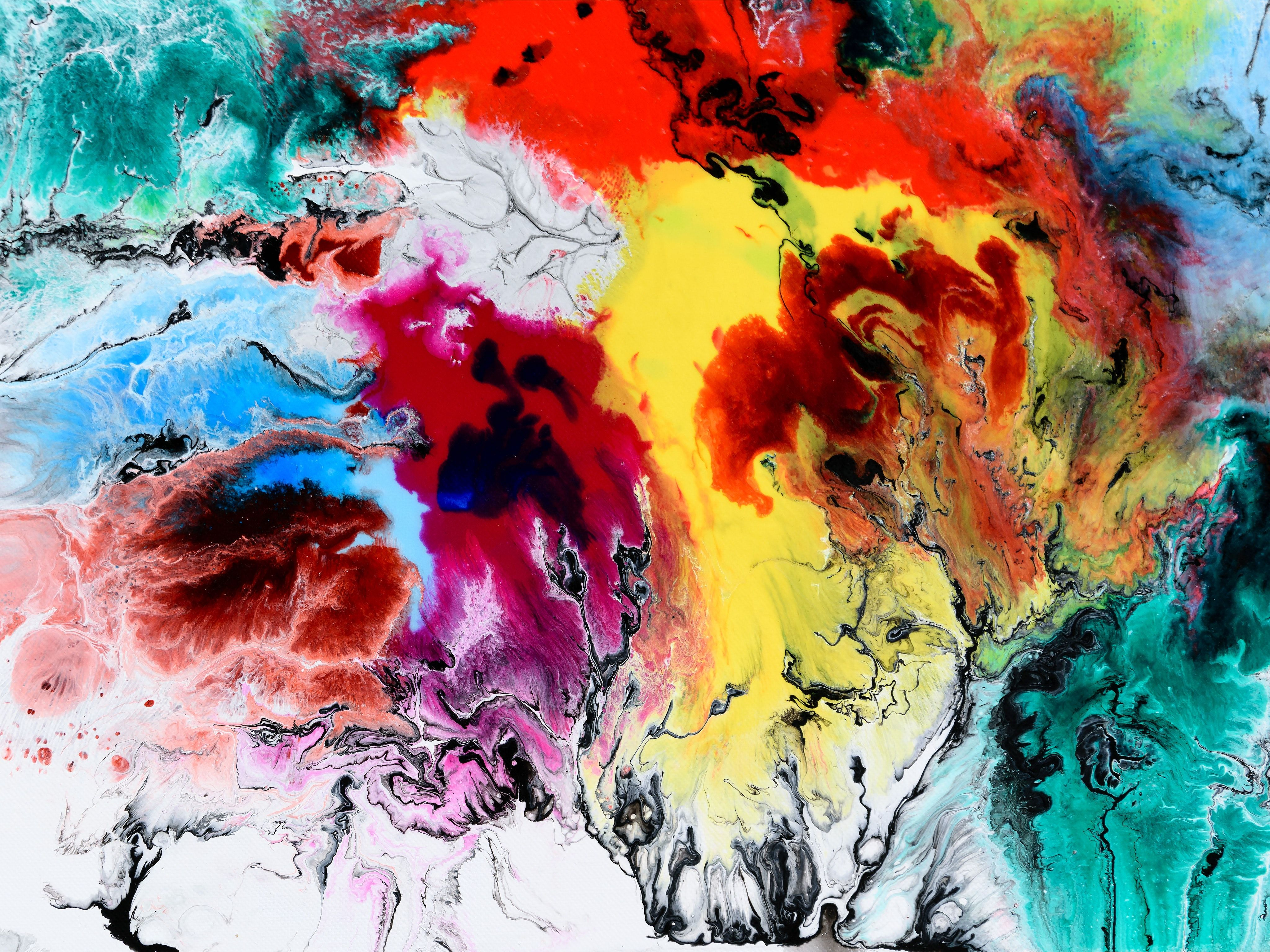 Three Step Guide To Designing Your Flower Garden Abstract Art