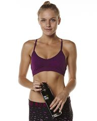 278a415839 ROXY CHILLIN WOMEN SEAMLESS YOGA BRA - BLACKBERRY on http   www ...