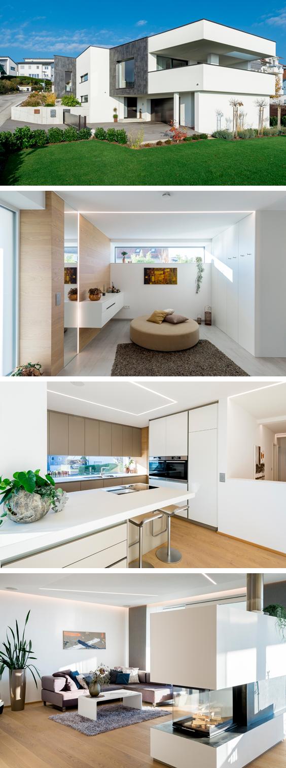 modern und gem tlich das haus der familie wolfinger kundenh user pinterest familien. Black Bedroom Furniture Sets. Home Design Ideas