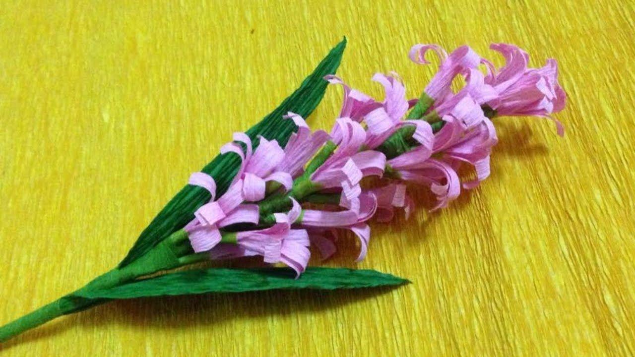 Cómo hacer flores de papel crepe | Fáciles y bonitas