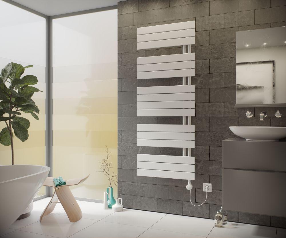Uber Das Produkt Dieser Elektroheizkorper Wird Komplett Fur Den Rein Elektrischen Betrieb Badheizkorper Elektrisch Badezimmer Innenausstattung Badezimmerideen