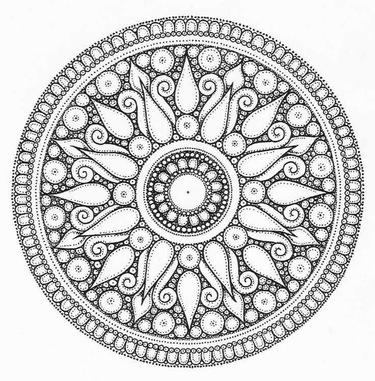 sun and moon mandala coloring pages Google Search