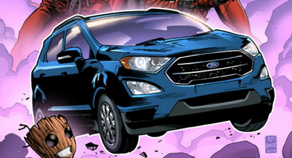 2018 Ford Ecosport To Be Featured In Guardians Of The Galaxy Vol