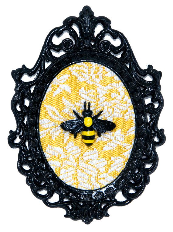 Bumble Bee - Victorian Framed Object - Wall Art Decor 4x6in. $42.00 ...