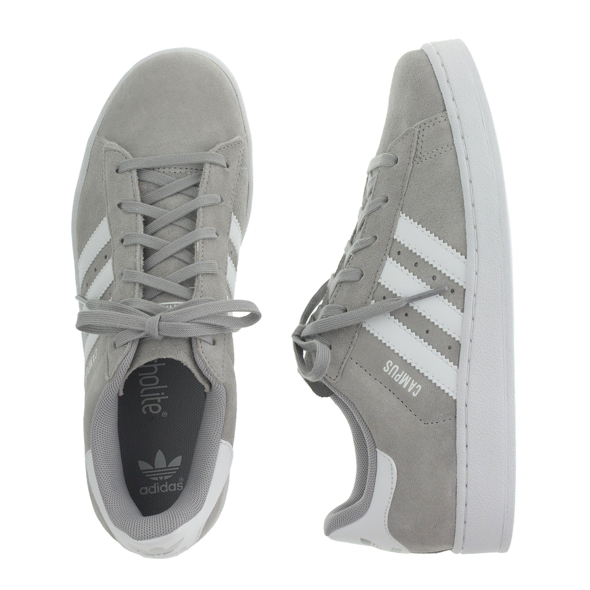 Kids'adidas ® campus scarpe in grigio in grandi dimensioni: adidas.