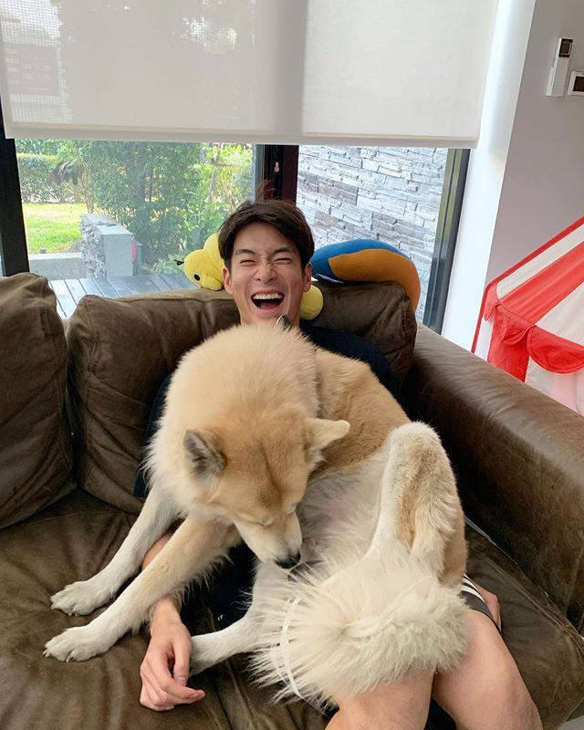 Alek Teeradetch On Instagram เล นก บหมาหมาน งต ก Adoptdab
