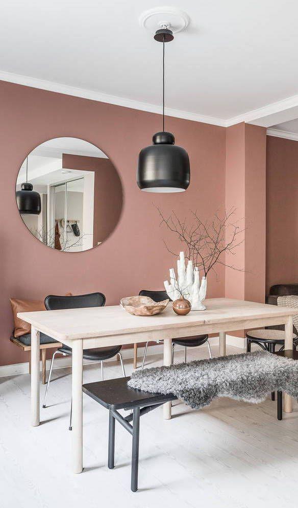 Zuhause in zartem Rosa – über Coco Lapine Design Blog #diningrooms